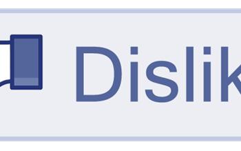 dislike, facebook, social