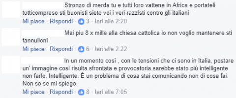 commenti Facebook Don Biancalani
