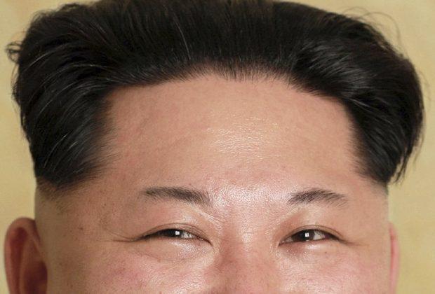 Kim Jong-un occhi che ridono