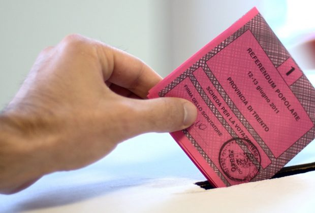 scheda elettorale referendum